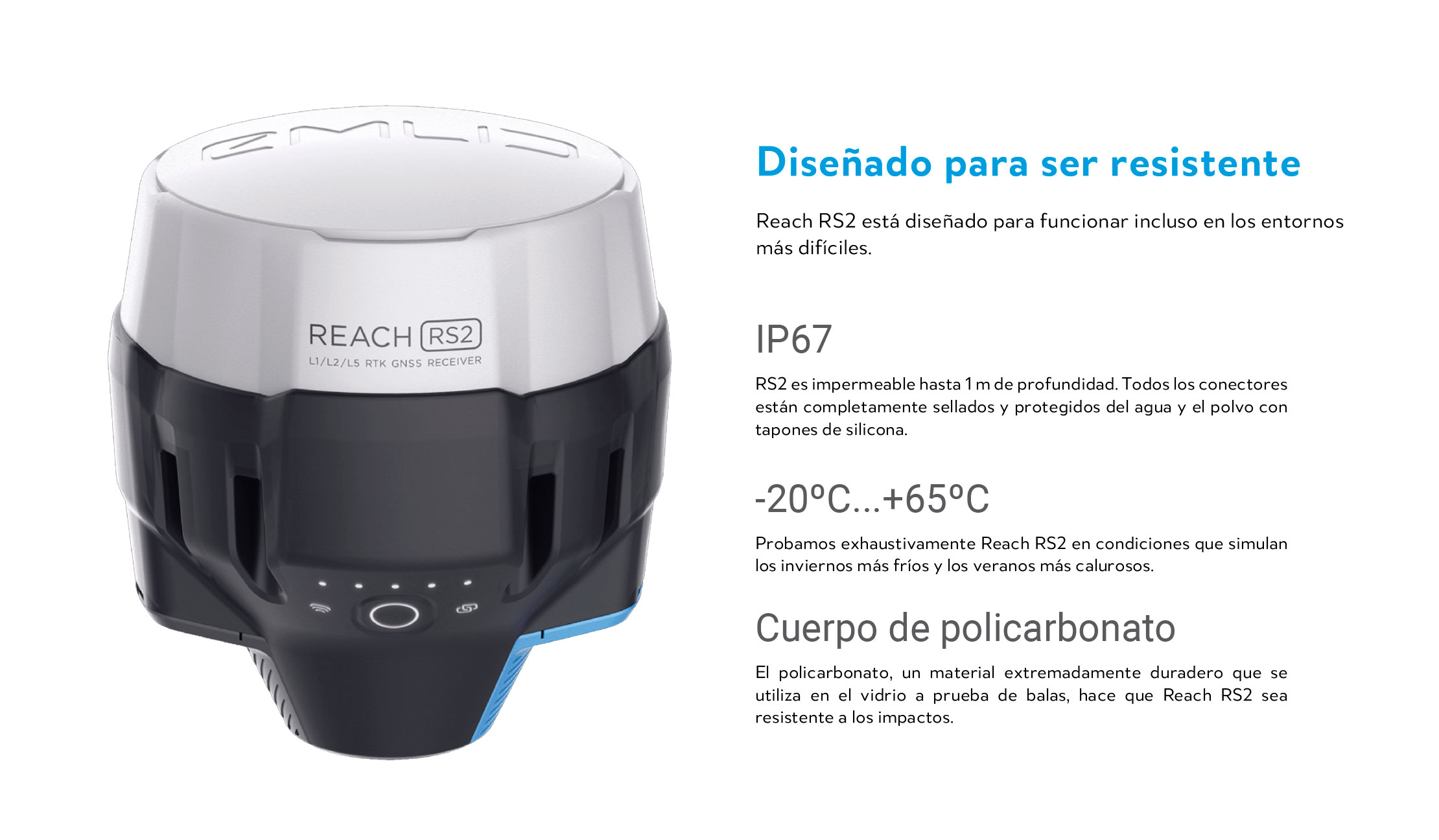 Emlid Reach RS2 GNSS RTK Receptor 7