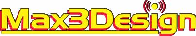 Logo Max3Design
